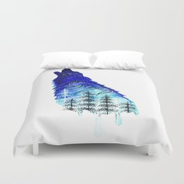 Mountain Wolf Duvet Cover