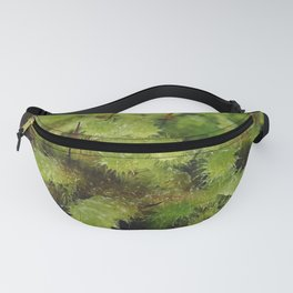 Watered moss Fanny Pack