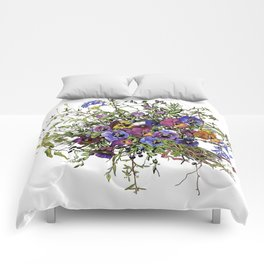 Pansy Delight Comforters