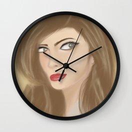 The Sexy Secretary Wall Clock