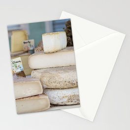 France Photography - French Cheese Stacked On Top Of Each Other Stationery Cards
