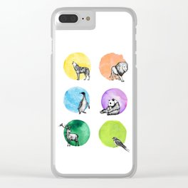 Animal Kingdom Clear iPhone Case