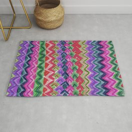 CRAYON LOVE: Cray Tribal II Rug