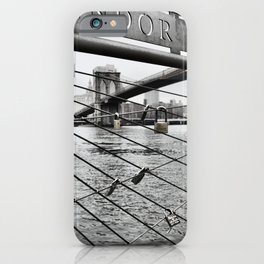 Brooklyn Bridge cc iPhone Case