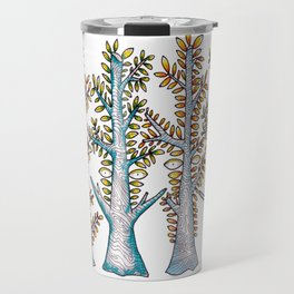 Forest of Faces Travel Mug