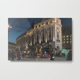 Busy Streets Metal Print