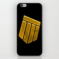 agents of shield iPhone & iPod Skins featuring Shield by Emma Harckham