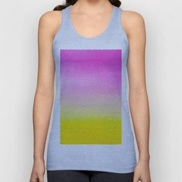 Abstract painting in modern fresh colors Unisex Tank Top