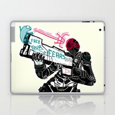 Face your Fears Laptop & iPad Skin
