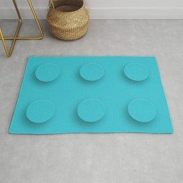 Brick Toy - Blue Rug