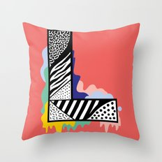 L for …. Throw Pillow