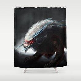 Inferorum Canis Colossus Shower Curtain