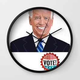 Joe Biden 2020 - Democratic Party President Wall Clock