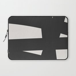 Neutral Abstract 1A Laptop Sleeve
