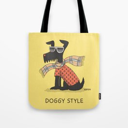 Doggy Style Tote Bag