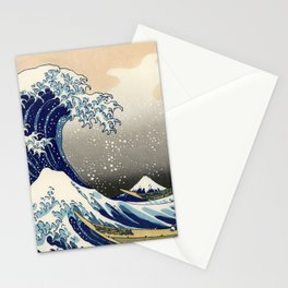 Katsushika Hokusai, The Great Wave off Kanagawa, 1831 Stationery Cards