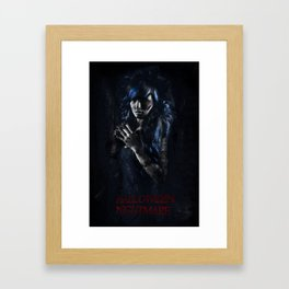 Halloween Nightmare Film Framed Art Print