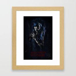 Halloween Nightmare Film Framed Art Print