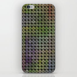 colored tiles iPhone Skin