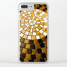 Sunburst Sojourn Clear iPhone Case