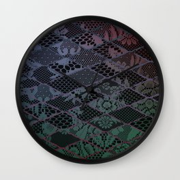 dark lace Wall Clock