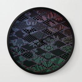 dark lace Wall Clock
