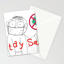 Stay Safe Stationery Cards