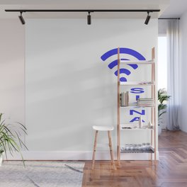 Clean up only when Wlan can't get through. Wall Mural