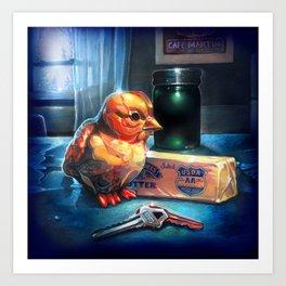 Butter Chicken Art Print