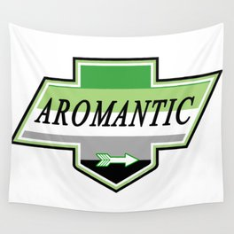 Identity Stamp: Aromantic Wall Tapestry