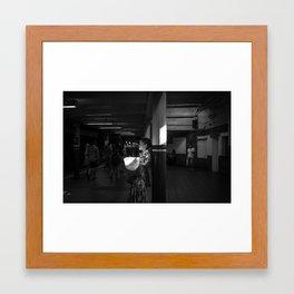 New York Subway Framed Art Print