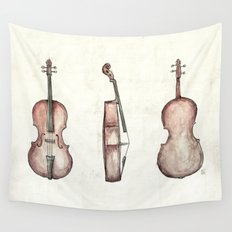 Cello Wall Tapestry