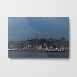 Galata Tower ,Istanbul/TURKEY Metal Print