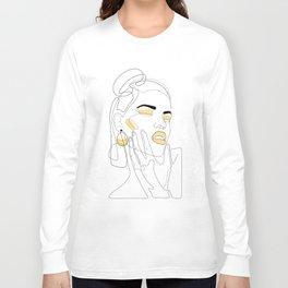 Lemon Splash Long Sleeve T-shirt