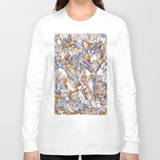 Animal ArtStudio 1216 Wolf Long Sleeve T-shirt