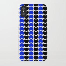 HobNob BlueBlack Print, Canvas and Laptop/iPad Skin iPhone Case