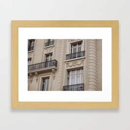 Lat Framed Art Print
