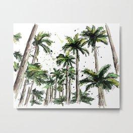 Palm-trees Metal Print