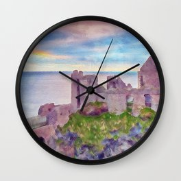 Dunluce Castle Wall Clock