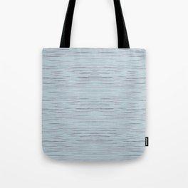 Meteor Stripes - Light Blue Tote Bag