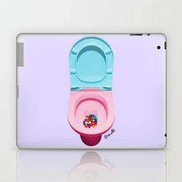 Bum Drops Laptop & iPad Skin