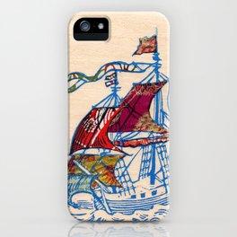 Sailing Ship XI iPhone Case