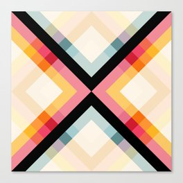 Retro Pattern 01 Canvas Print