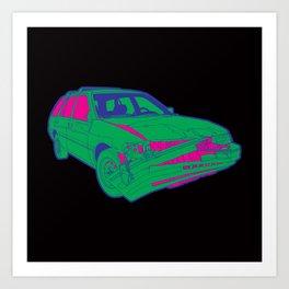 Wrecker Art Print
