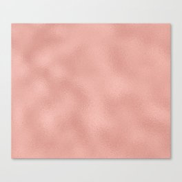 Rose gold - Touch of Rose Canvas Print