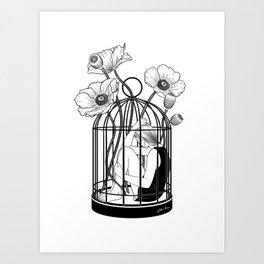 The Loner Art Print