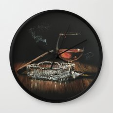 After Hours IV Wall Clock