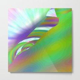 Tumulte Lumineux Metal Print