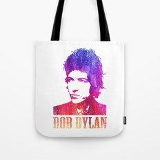 Bob Dylan Print Tote Bag