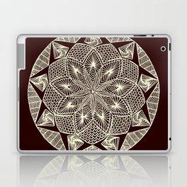 Maroon Mandala Laptop & iPad Skin